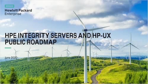 Roadmap HPE Itanium servers